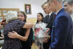 pożegnanie klasy ósmej
